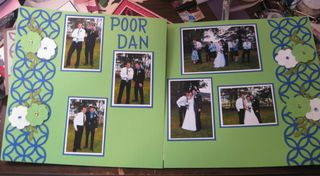 Scrapbook pages 3 and 4