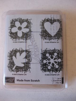 Made From Scratch Set Of 4 Unmounted 500 2005 2006