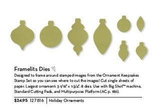 Holiday Ornaments Framelits