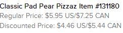 Pear Pizzaz Text