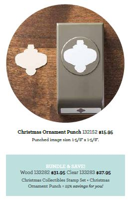 Xmas ornament punch