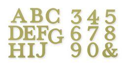 Typeset Alphabet