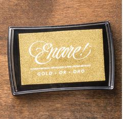 Gold Metallic Ink