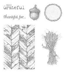 Truly Grateful Stamp Set