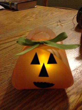 Vellum pumpkin