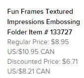 Fun frames ef text