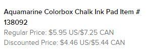 Aquamarine Chalk Pad text