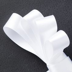 Whisper White Satin Ribbon