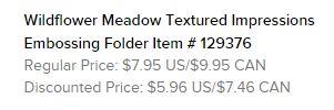 Wildflower Meadow EF Text