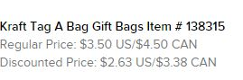 Bags Text