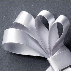 Silver Satin Ribbon