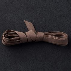 Early Espresso Cotton Ribbon'