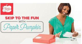 Paper Pumpkin 2