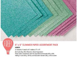 Glimmer paper