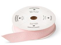 Blushing bride ribbon