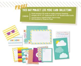 Project Life Mini Card Collection