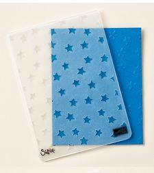 Stars Embossing Folder