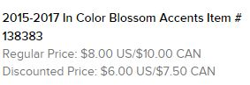 Blossom Accents Text