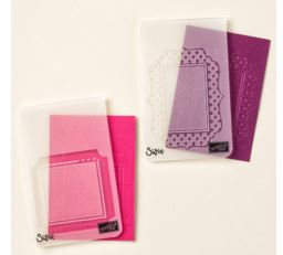 Fun Frames Embossing Folders