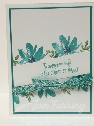 Avant Garden and Dying Ribbon - Jan's Stamping Creations