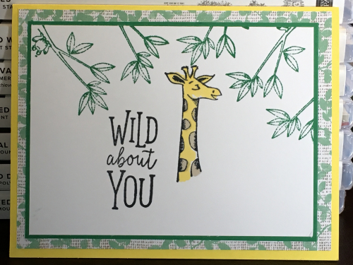Animal Outing Stamp Set - new in the Stampin' Up 2018-2019 Annual