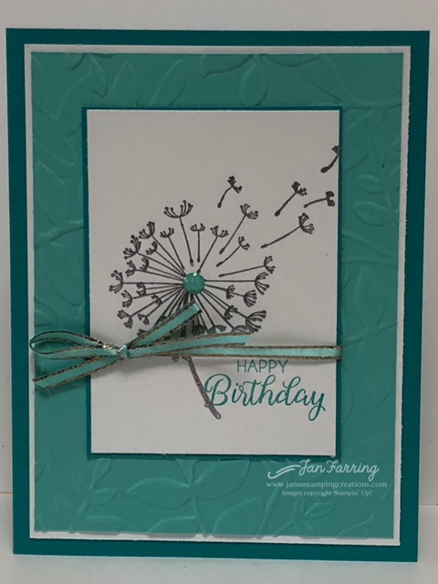 Jan's Stamping Creations: Stampin' Up Cards and Projects