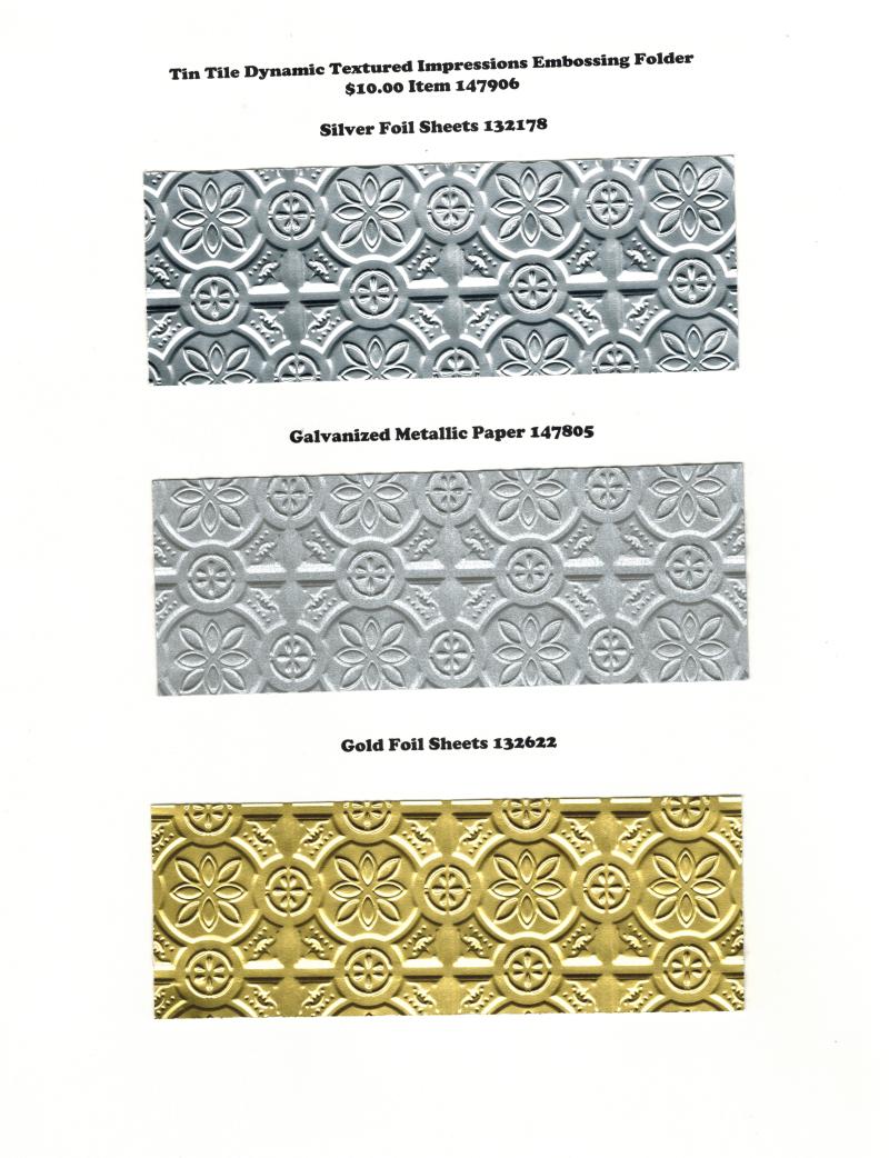 Tin Tile & Foil 1