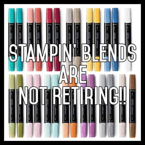 Blends are not retiring